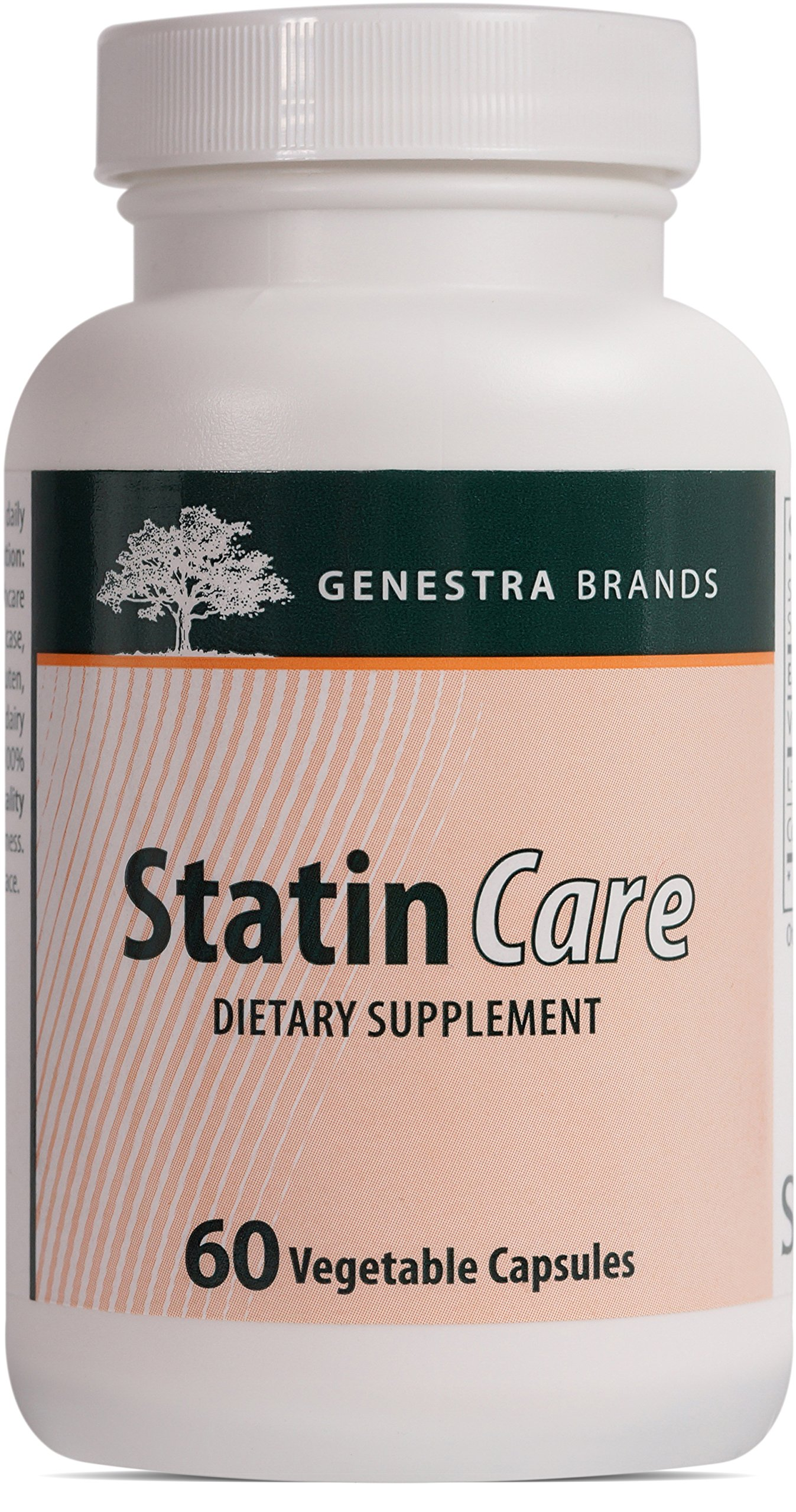 Genestra Brands - Statin Care - Coenzyme Q10, L-Carnitine and Vitamin D for Cardiovascular Health* - 60 Vegetable Capsules