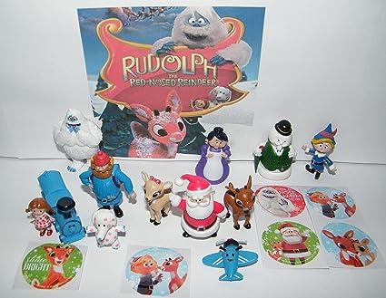 Set 1 4 Pack Gift Set Box Toy Rudolph