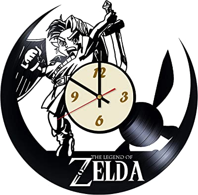 Zelda Legend Game Handmade Wall Clock - Decorate Your Home with Modern Art - Best Gift