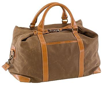 Amazon.com : BELDING American Collection Satchel Duffle Bag, Tan ...