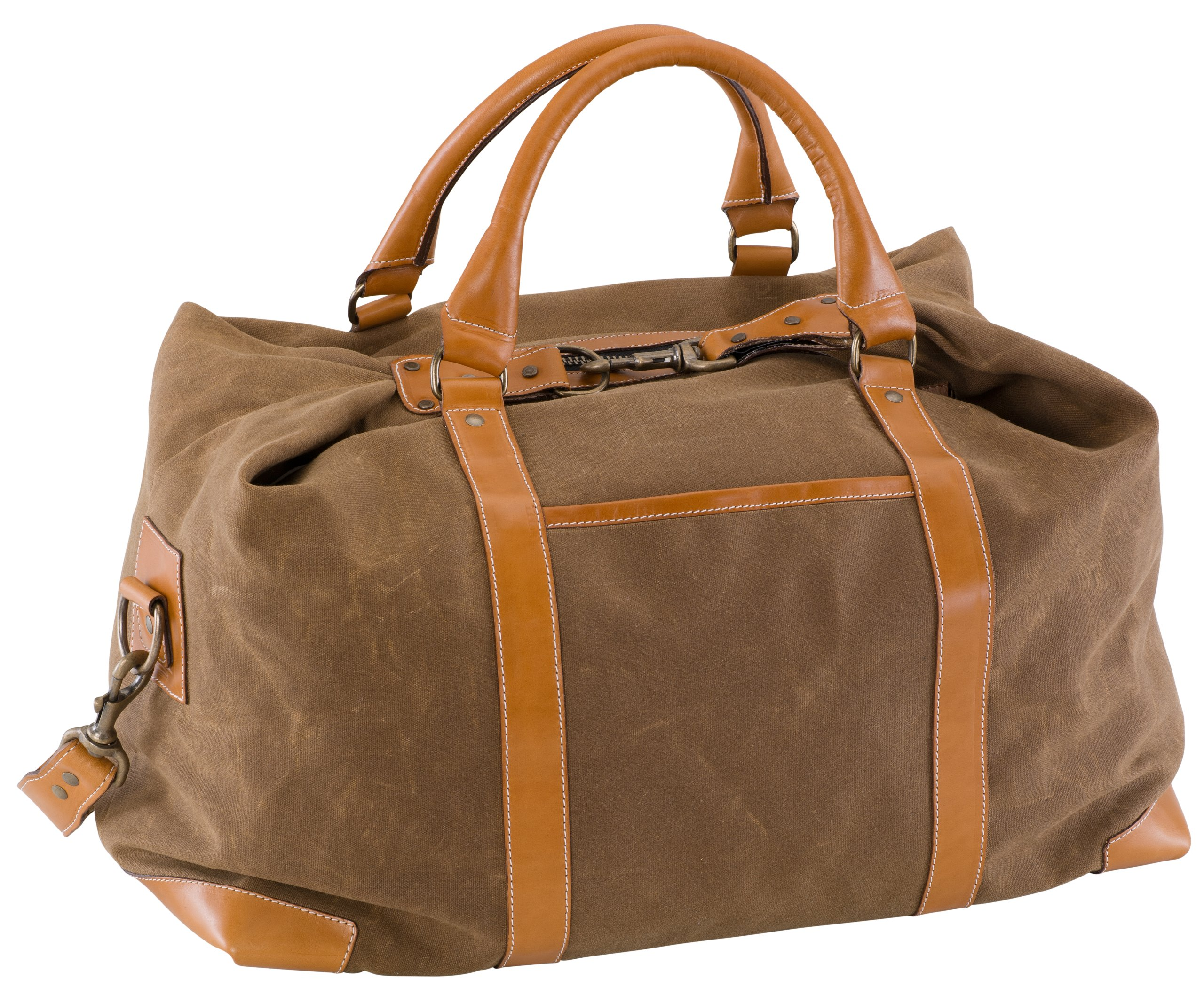 BELDING American Collection Satchel Duffle Bag, Tan