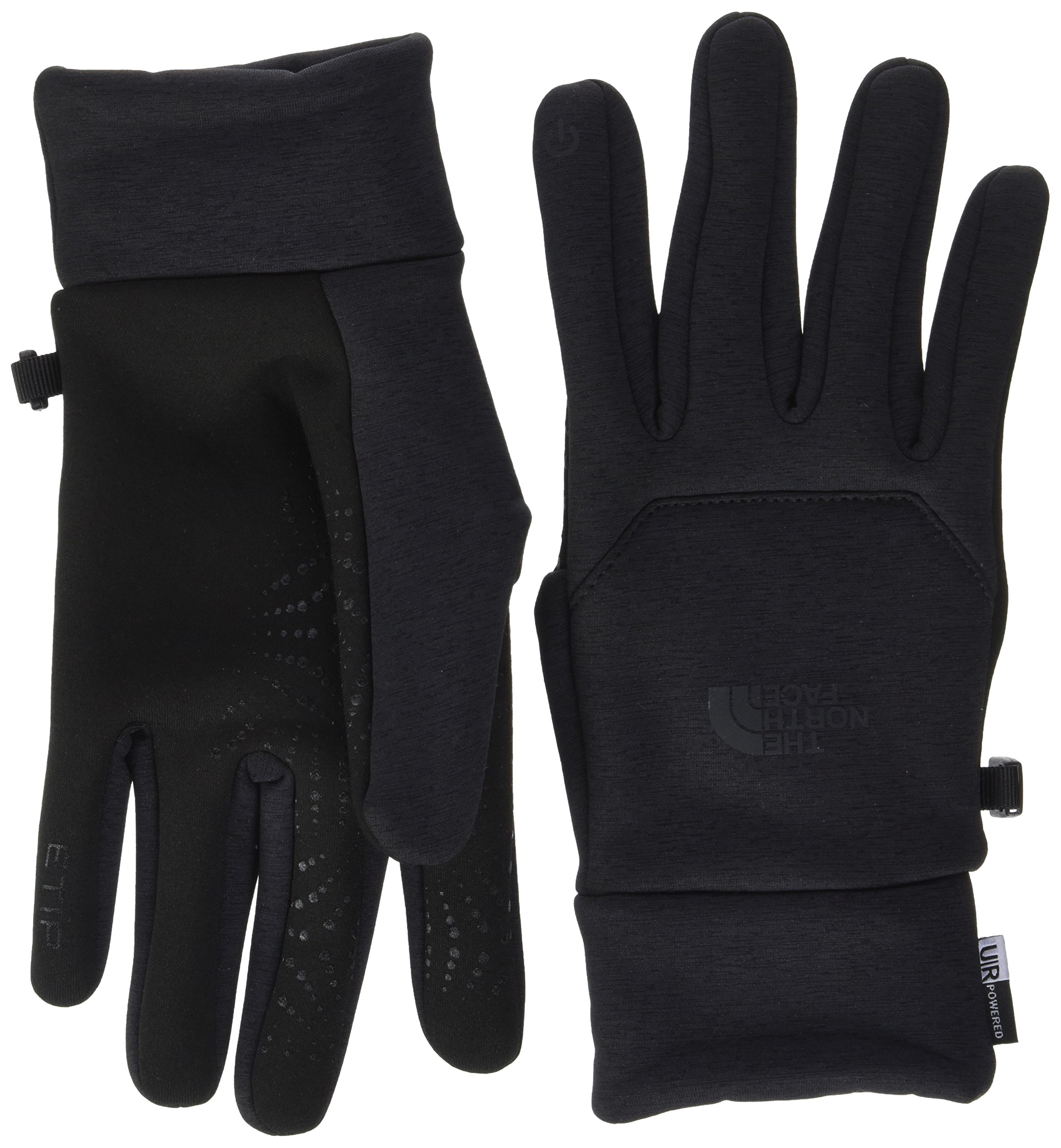 The North Face mens Etip Hardface Gloves NF0A2T7VPCT_M - Tnf Black Heather Print