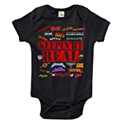 Keepin It Real Heavy Metal Baby Bodysuit Cute Baby Clothes for Boys and Girls (0-3 Months)