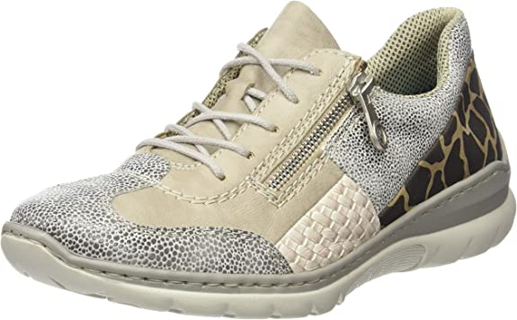 Rieker L3223 Women Low Top, Baskets Basses Femme