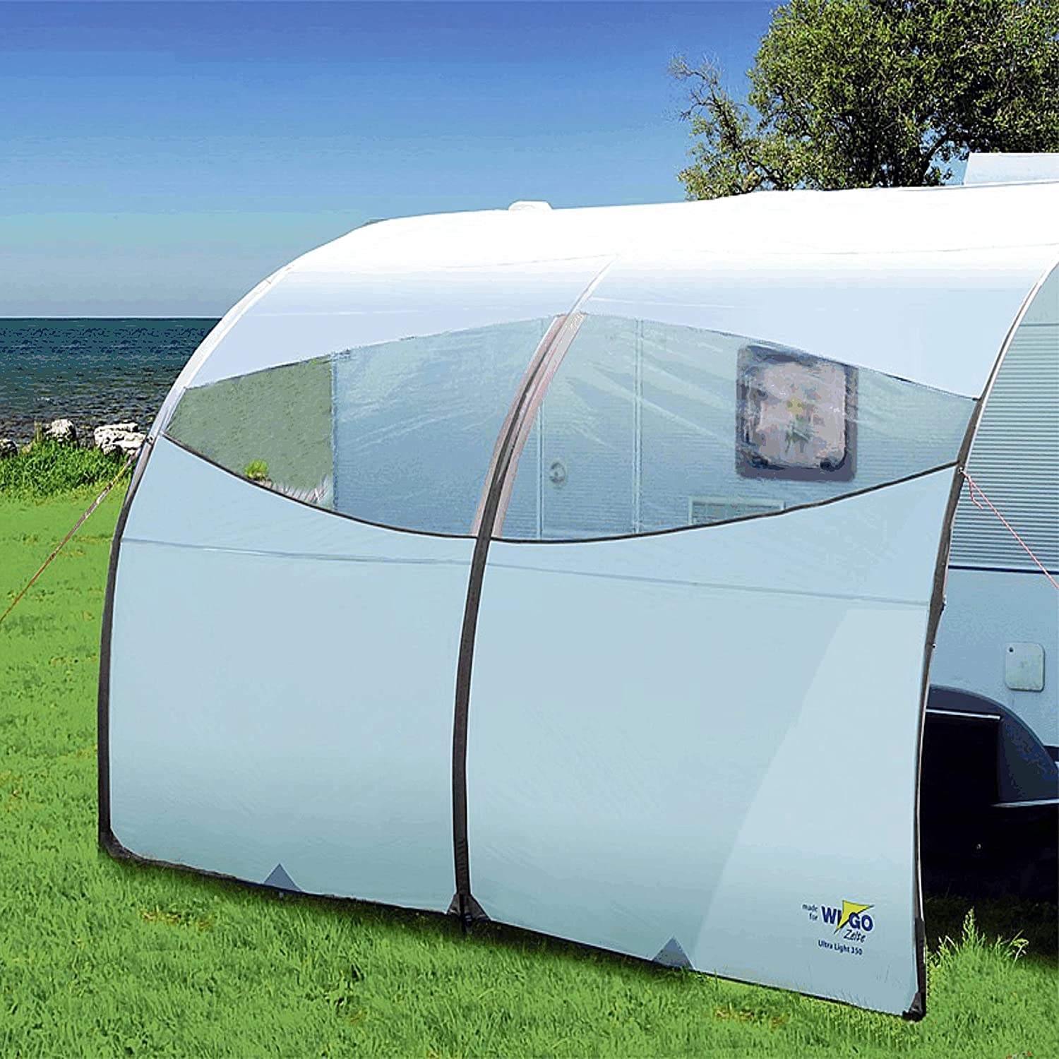 Ultra Light Caravan Canopy 300x250 Amazoncouk Garden Outdoors