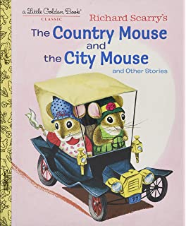 dcdb63600b8a Richard Scarry s The Country Mouse and the City Mouse (Little Golden Book)