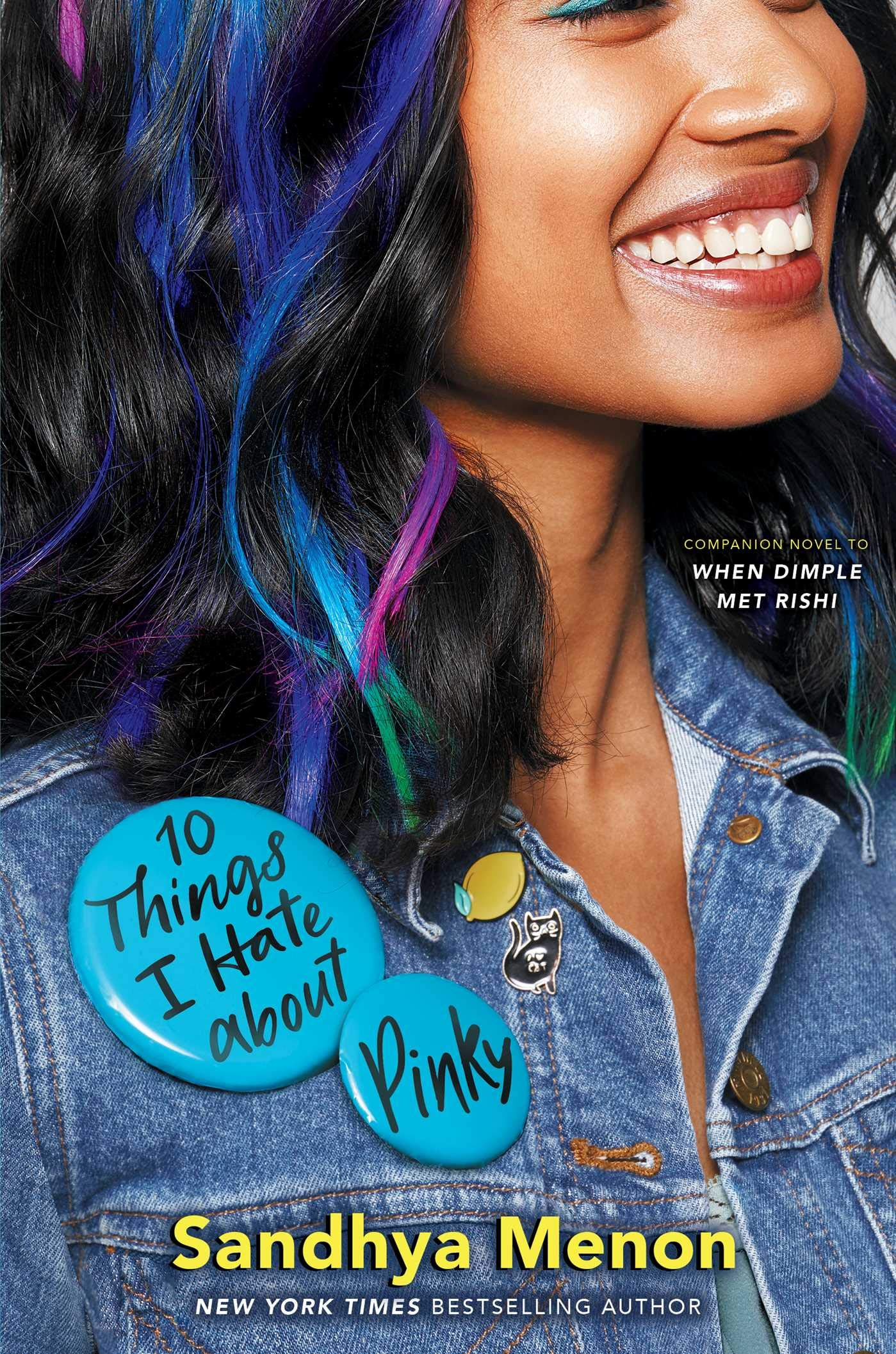 Amazon.com: 10 Things I Hate about Pinky (9781534416819): Menon ...