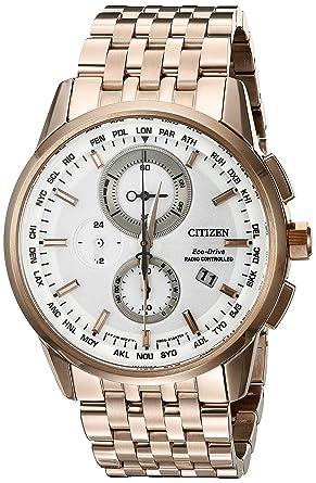 d9696233abc Amazon.com  Citizen Eco-Drive Men s AT8113-55A World Chronograph A-T ...