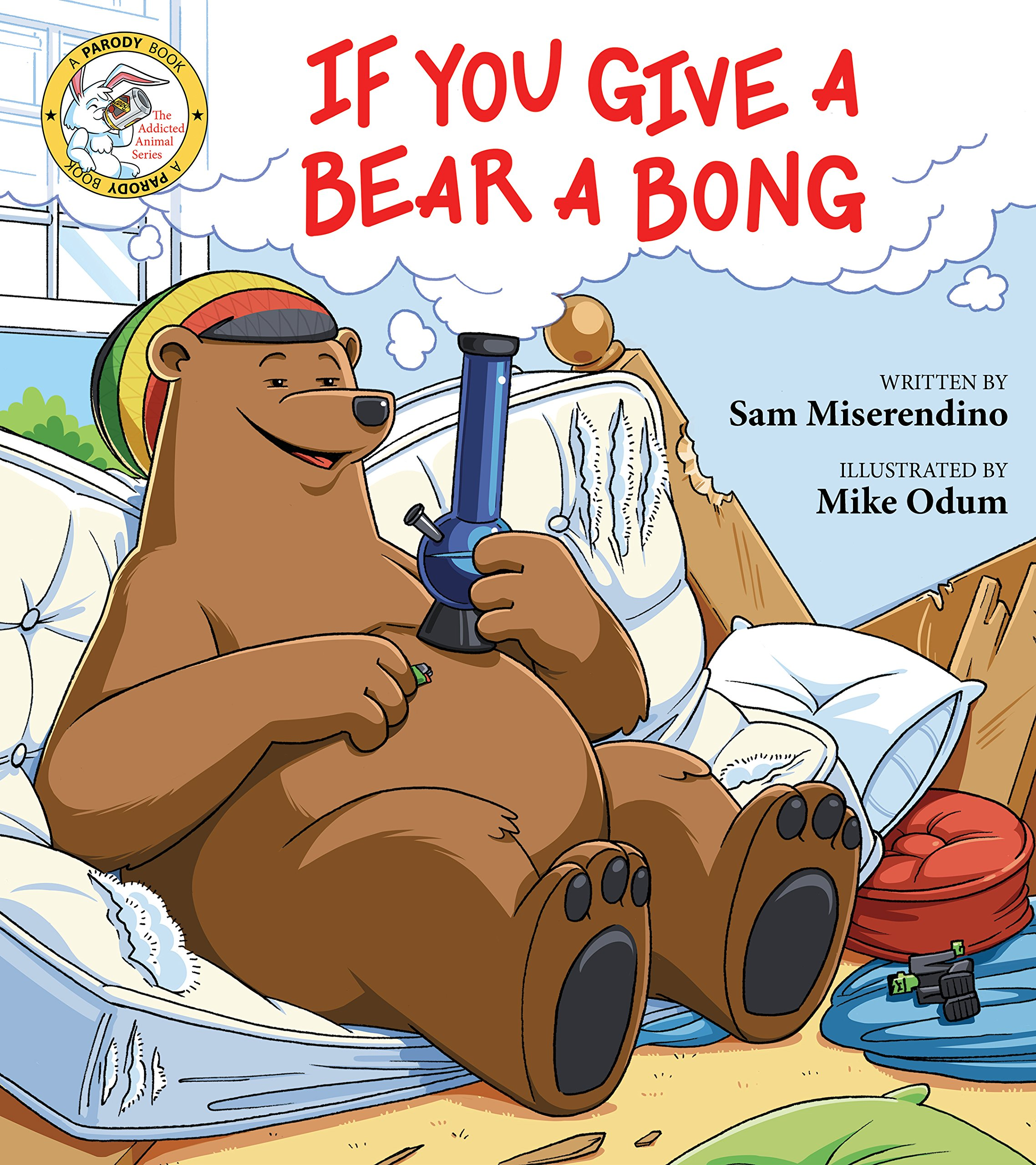 if you give a bear a bong addicted animals amazon co uk