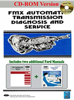 Transmission repair book ford 1960 to 2007 automatic and manual fmx automatic transmission diagnosis service and training manual fandeluxe Images