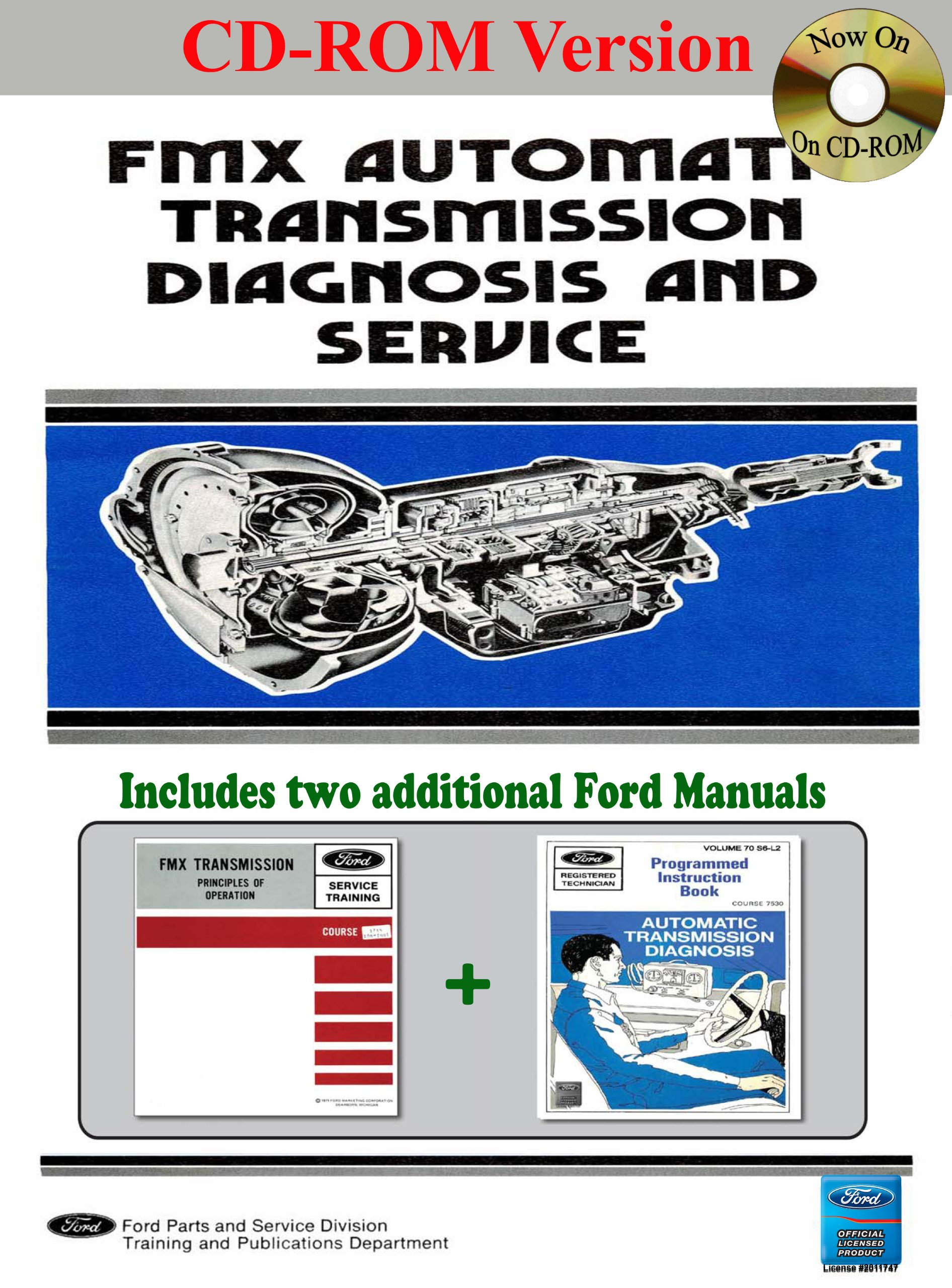 fmx automatic transmission diagnosis, service, and training manual C4 Transmission Exploded View fmx automatic transmission diagnosis, service, and training manual multimedia cd \u2013 september 12, 2013