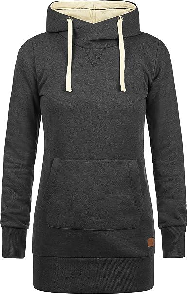 Longpullover Pullover mit Kaputze Gr L-40