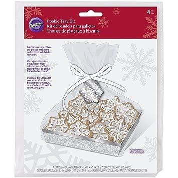 Wilton Snowflake Cookie Tray Kit - 4 Sets (1 Pack)