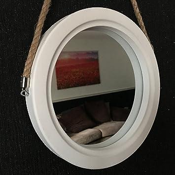 Tjm Vintage Stil Runder Spiegel Bullaugen Optik