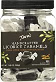 Tara's All Natural Handcrafted Gourmet Black Licorice Caramel: Small Batch, Kettle Cooked, Creamy & Individually Wrapped - 11.5 Ounce