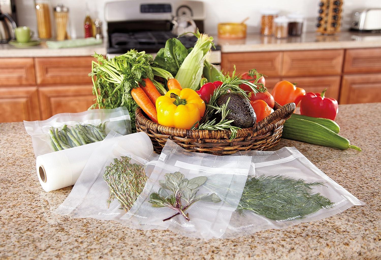 FoodSaver FSR2802 Rollos de Envasado al Vacío FoodSaver, 2 Rollos ...