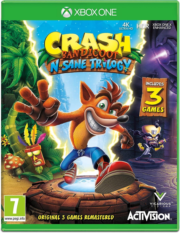 Crash Bandicoot NSane Trilogy - Xbox One [Importación inglesa]: Amazon.es: Videojuegos
