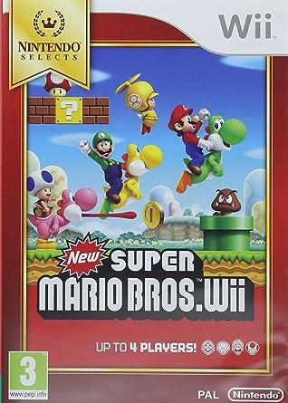Nintendo Selects New Super Mario Bros.Wii, Juego: Amazon.es: Videojuegos