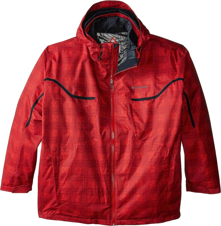 Columbia Sportswear Mens Big Whirlibird Interchange Jacket