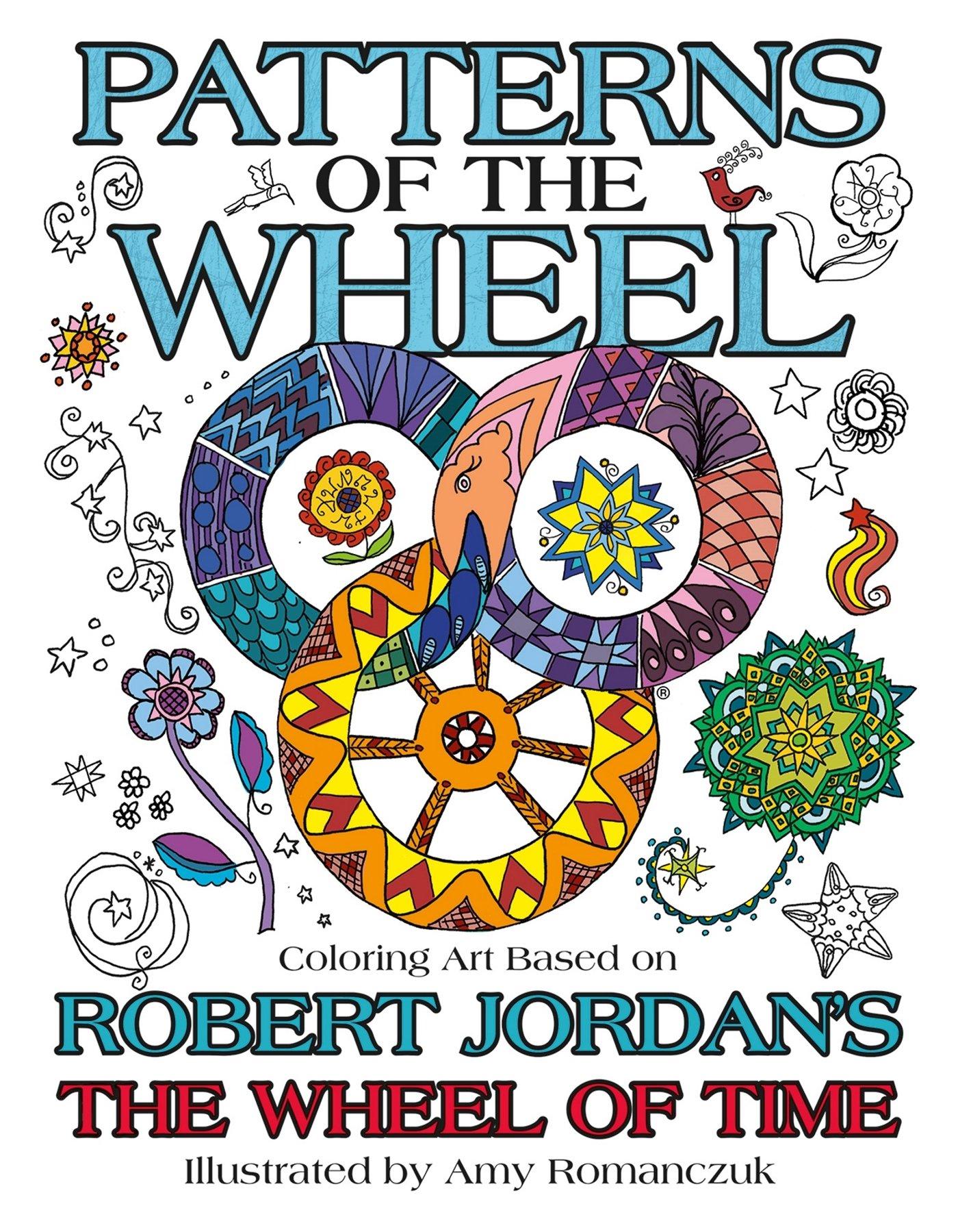 Amazon Patterns Of The Wheel Coloring Art Based On Robert Jordans Time Other 9780765392824 Jordan