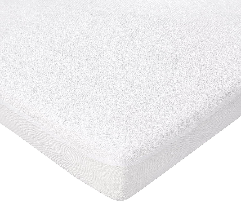 Trois Kilos Sept – Proteggi materasso, per lettino, bianco Prezzi offerte