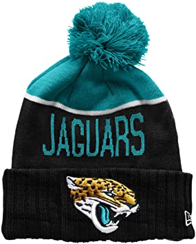New Era Men s NFL Sport Knit Jacksonville Jaguars Beanie 0e891ed9a1e
