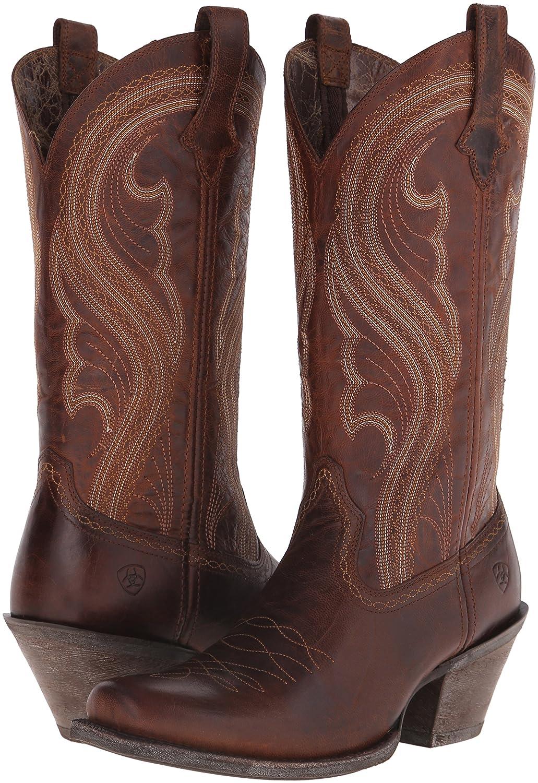 Ariat B00U9XYAFO Women's Lively Western Cowboy Boot B00U9XYAFO Ariat 10 B(M) US|Sassy Brown 98d784