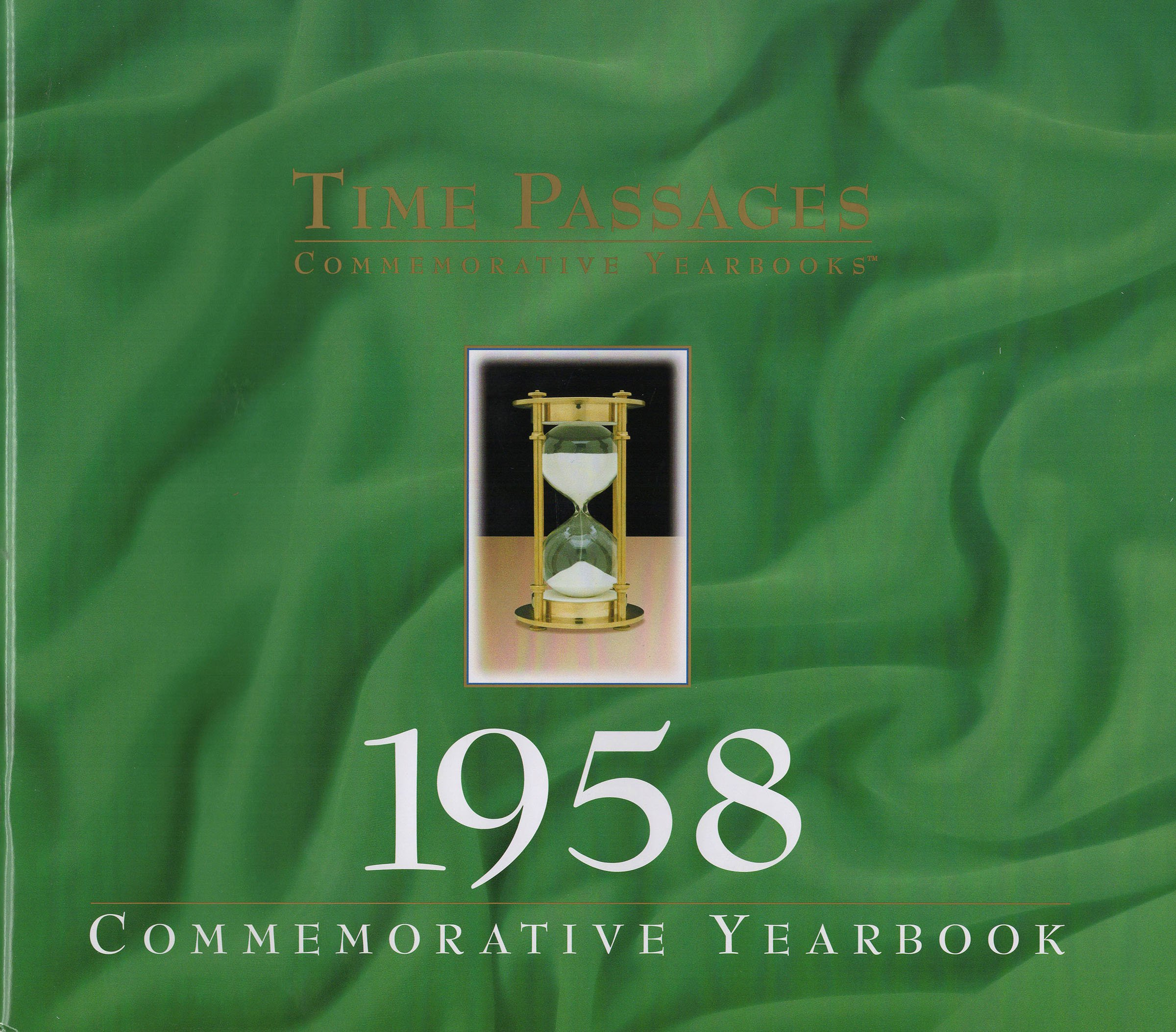 1958 Time Passages Yearbook for 60th Birthday Gift, 60th Anniversary Gift