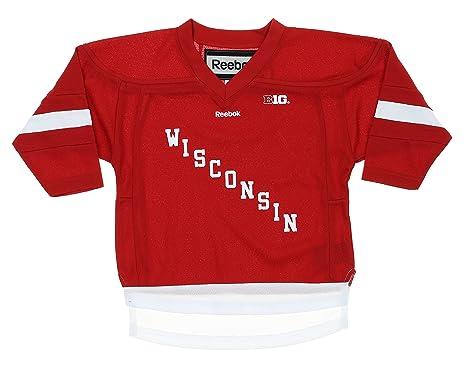 Amazon.com  Wisconsin Badgers NCAA Little Boys Toddler Replica ... 30cbc843c0c