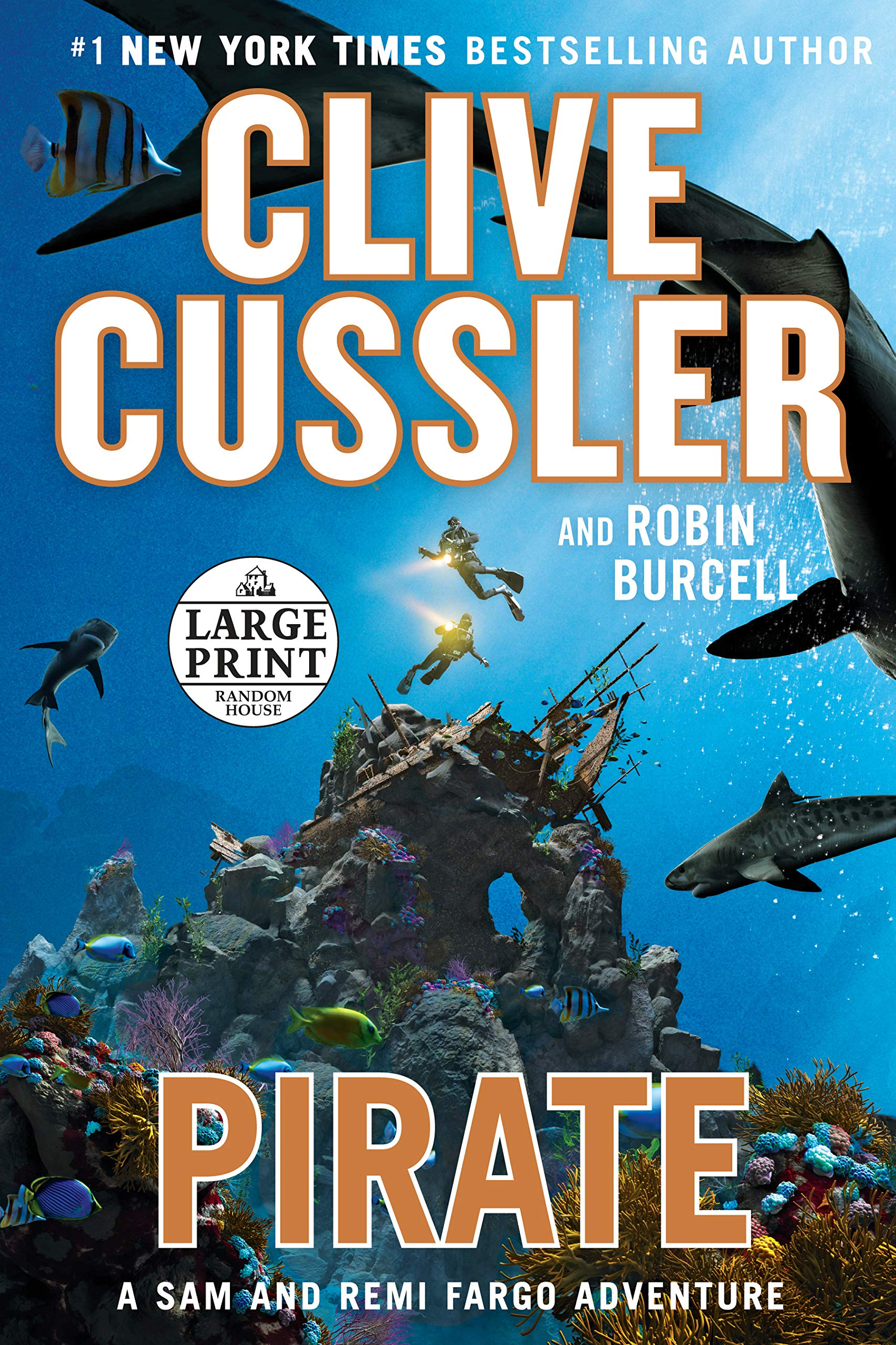 Pirate (Fargo Adventures): Amazon.co.uk: Clive Cussler, Robin Burcell:  9781524708900: Books