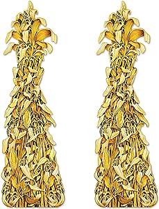 Beistle Jointed Cornshocks 2 Piece, 5', Multicolored