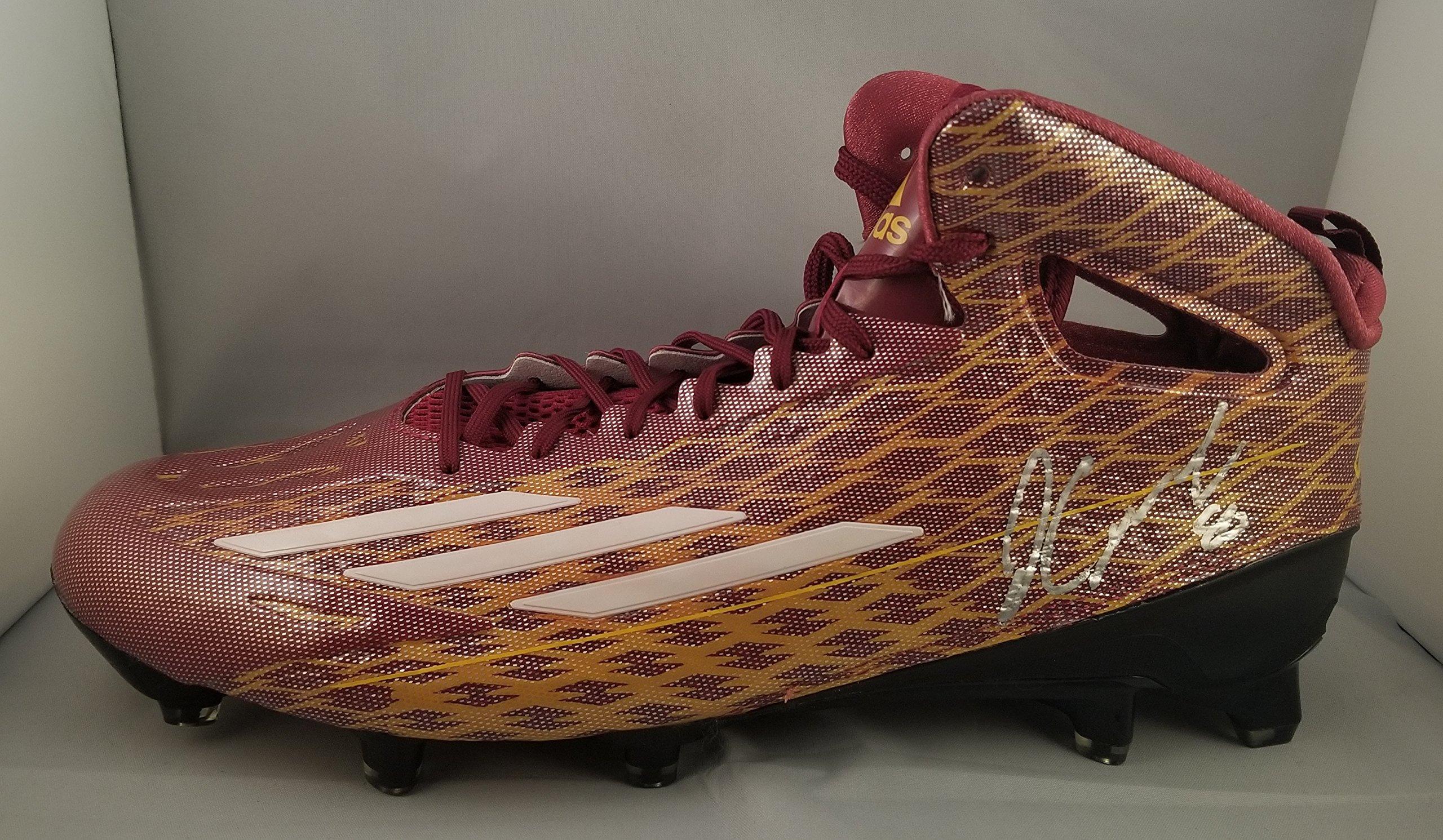 Jamison Crowder Autographed Signed Adidas Cleat Washington Redskins JSA