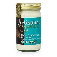 Artisana Organics - Coconut Butter, Organic, Certified R.A.W spread, no added sugar, Non-GMO and vegan, 14 Ounce