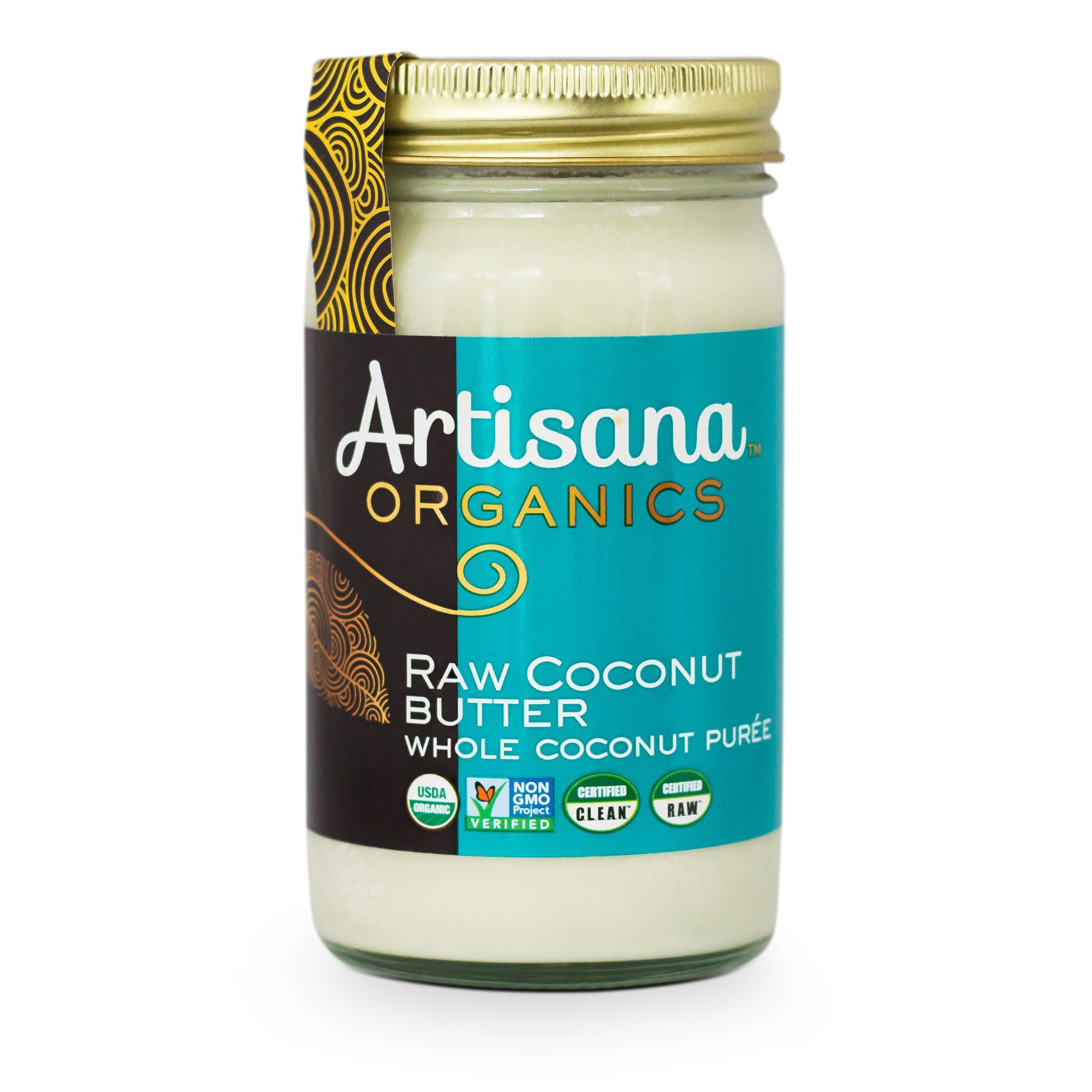 Artisana Organics - Coconut Butter, Organic, Certified R.A.W spread, no added sugar, Non-GMO and vegan (14oz)