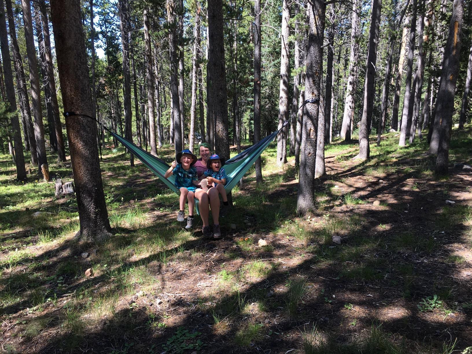 egit Camping - Double Hammock - Lightweight Parachute Portable Hammocks