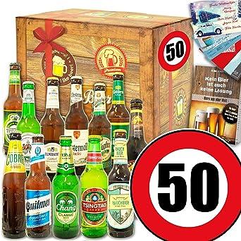 Geschenk Ideen 50 12 Biere Welt Und De Geschenke 50 Geburtstag