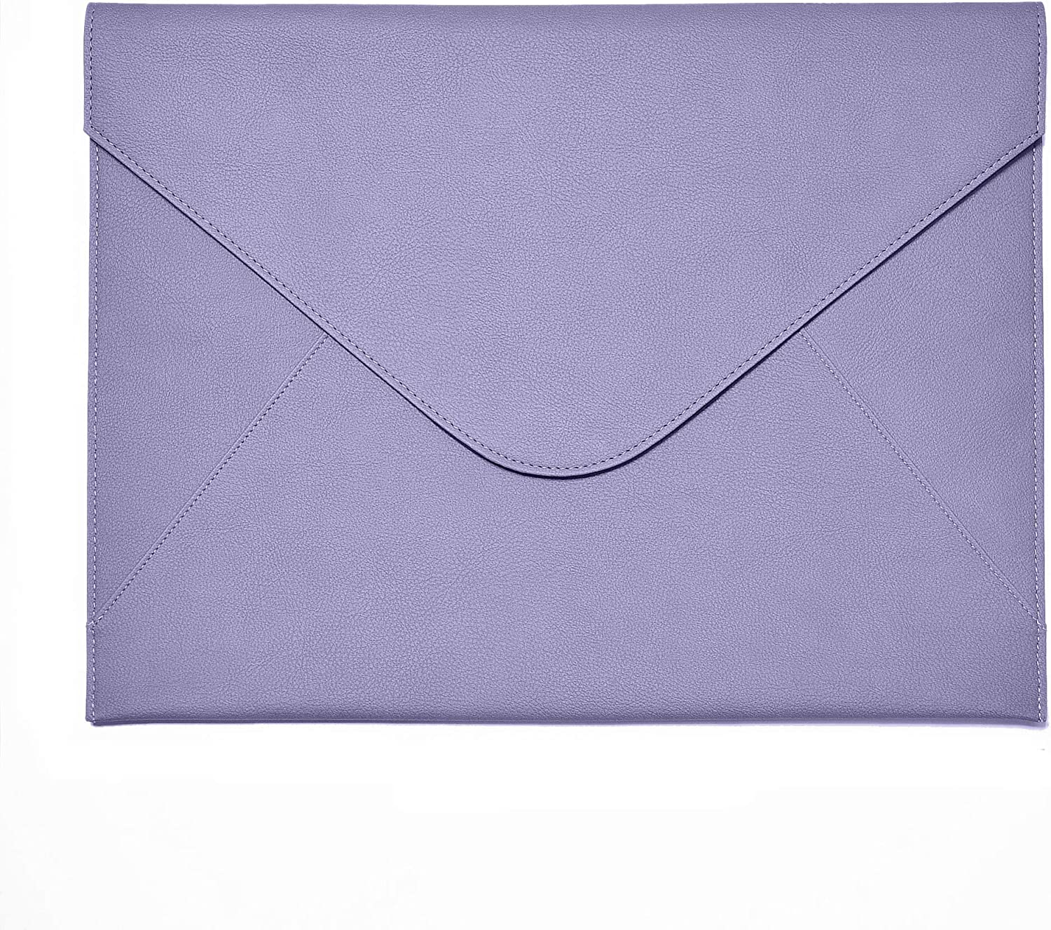 Bellagenda 13.5 inch Laptop Sleeve | Sleeve for Old MacBook Pro | Surface Laptop | Document Envelope | Fits for 13.5 to 14 inch Laptop | Water Resistant | Pen Holder (13.5-14 inch, Lavender)