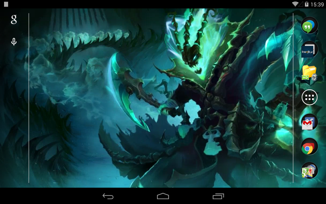 Thresh League Of Legends Live Wallpaper Amazonca Appstore For Android