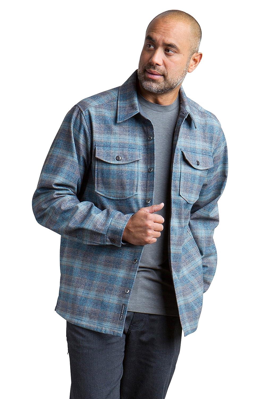 Exofficio Herren Brux Brennen Plaid Long Sleeve Shirt
