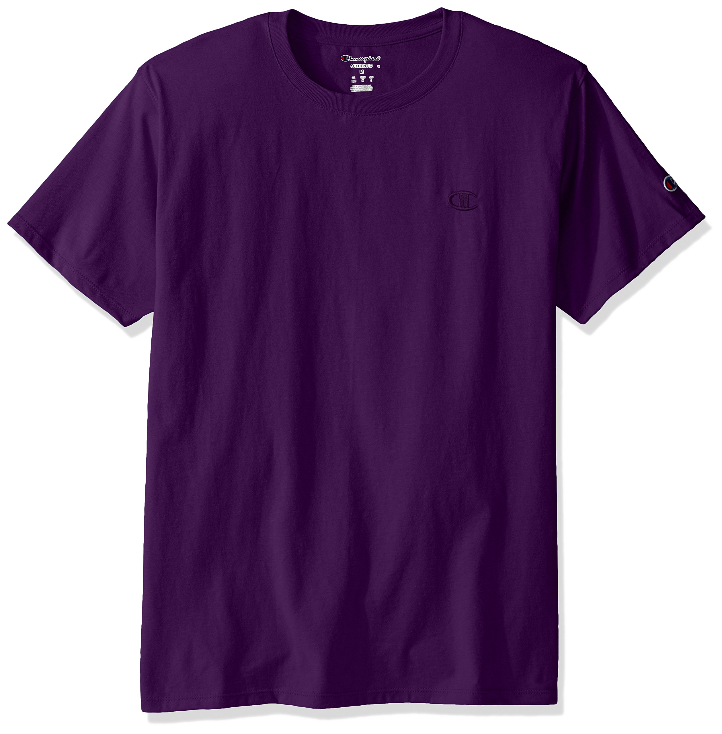 Champion Men's Classic Jersey T-Shirt, Purple Pr, M by Champion
