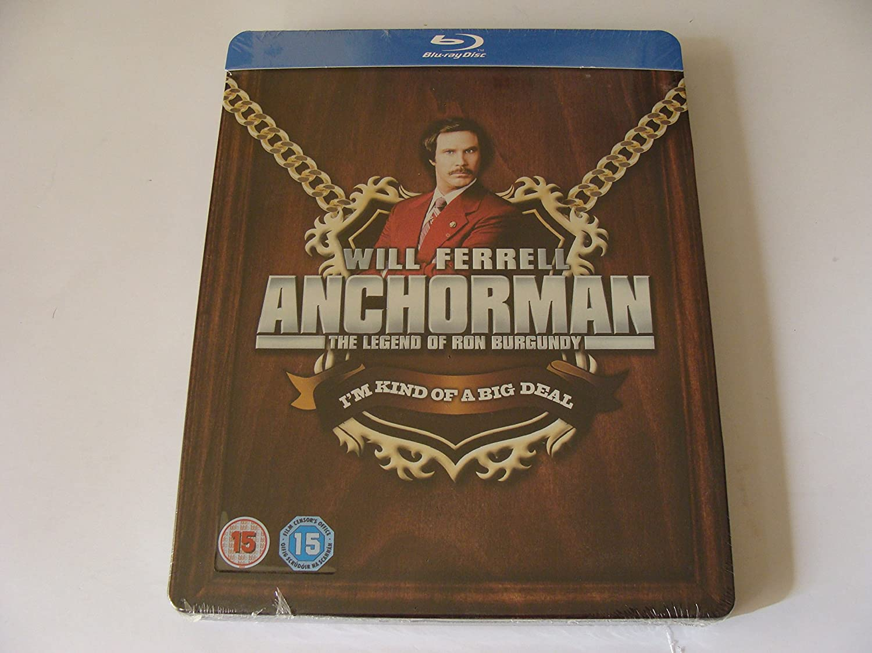 Anchorman: The Legend of Ron Burgundy - Zavvi - Steelbook de ...