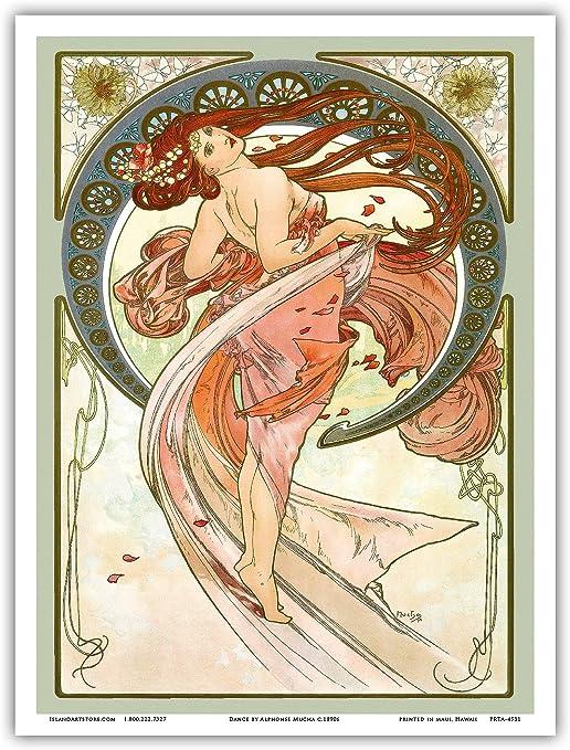 ALPHONSE MUCHA VINTAGE POSTER 1897 Winter ad Art Print