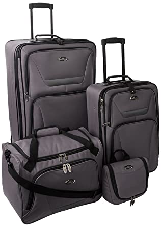 Amazon.com | U.S Traveler Westport super lightweight expandable 4 ...