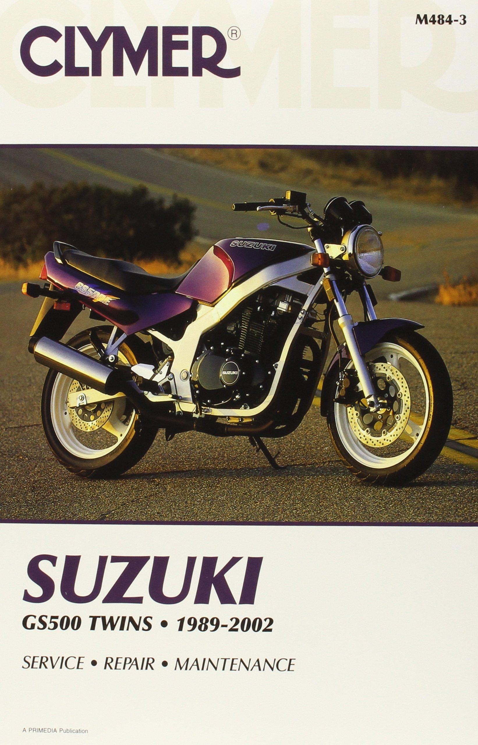 Download Suzuki GS500 Twins 1989-2002 (CLYMER MOTORCYCLE REPAIR) pdf epub