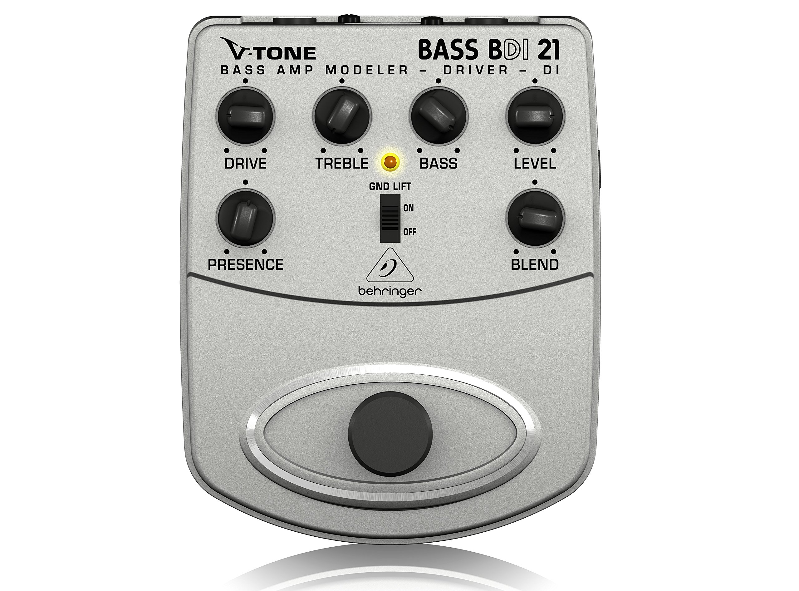 Behringer V-Tone Bass Driver DI BDI21 Bass Amp Modeler/Direct Recording Preamp/