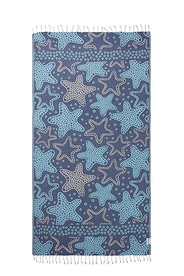 Amazon.com: InfuseZen - Toalla turca de estrella de mar ...