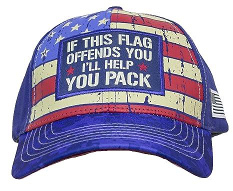 48e42e9a205 Amazon.com  Buck Wear If This Flag Offends You