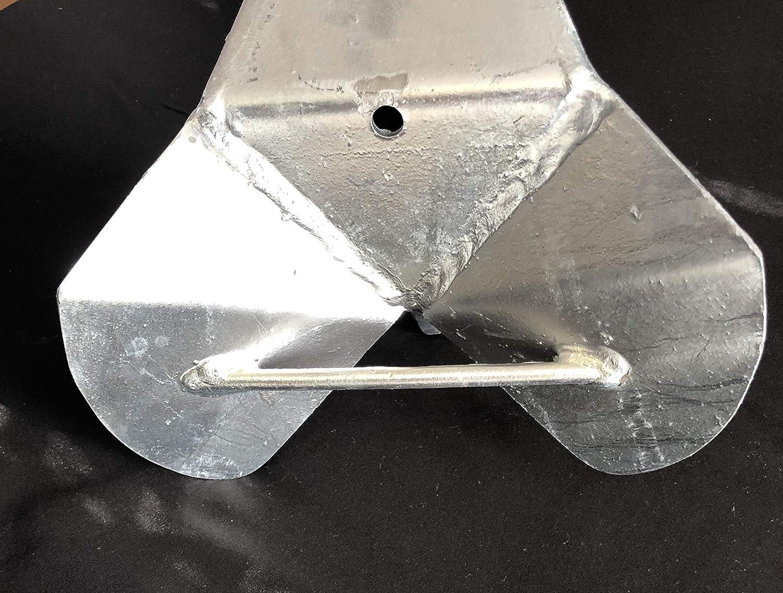 6kg Galvanized Delta Anchor 13lbs Fast Set Plow Anchor