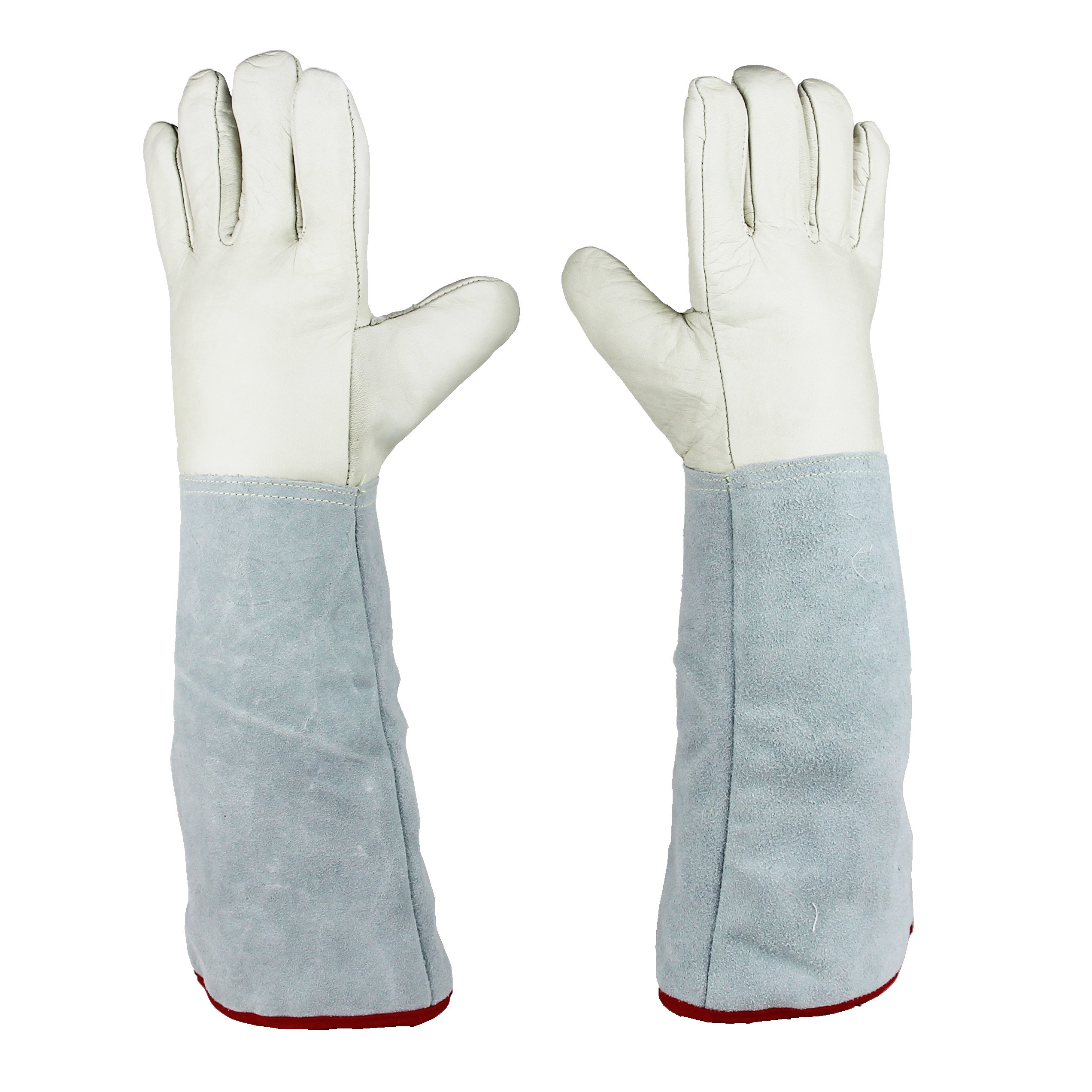 45cm (17.7'') Long Cryogenic Gloves LN2 Liquid Nitrogen Protective Gloves by U.S. Solid (Image #2)