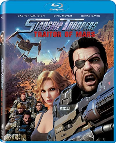 Poster of Starship Troopers: Traitor of Mars 2017 Dual Audio 720p Download